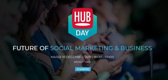 Hubday 2019 future of social marketing & business